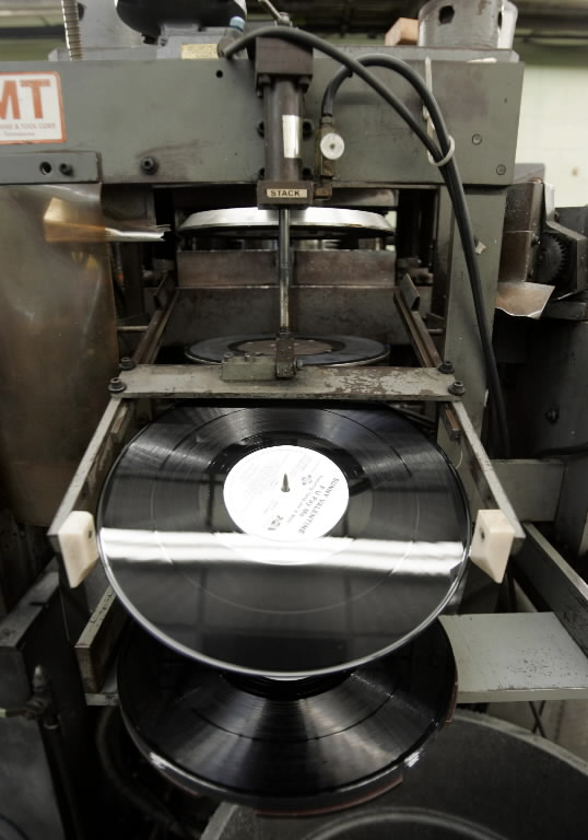 Vinyl Record Pressing Plants